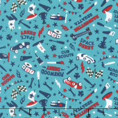 Cub Scouts - Cub Scouts Derby Teal Yardage
