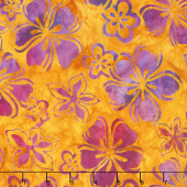 Artisan Batiks - Bright Blooms Flowers Sunburst Yardage