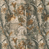 Realtree - Hidden Animals Brown Yardage