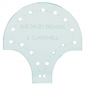"Sue Daley 2"" Clamshell Template"