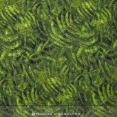 Naturescapes - Ferns Green Yardage