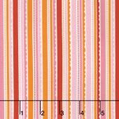 Happy Day - Happy Stripes Pink Yardage