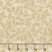 Harvest Berry - Harvest Berry Leaves Biscotti Yardage