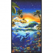 Picture This - Sealife Surf Digitally Printed Panel