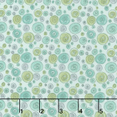 Road Trippin' - Doodle Dot Teal Yardage