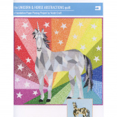 Unicorn & Horse Abstractions Quilt Pattern