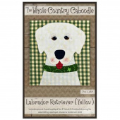 Labrador Retriever Yellow Precut Fused Appliqué Pack