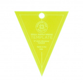 "Missouri Star Small Simple Wedge Template for 5"" Charm Packs"