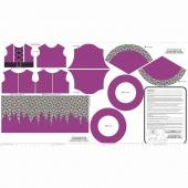 Eek Boo Shriek - Shriek Color Purple Panel