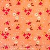 Enchanted - Meadow Peach Yardage