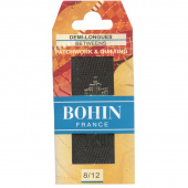 Bohin Between Quilting Needles - Assorted Sizes 8/12