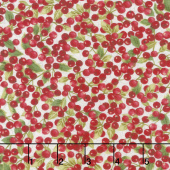 Cardinal Woods - Berries Cream Multi Yardage