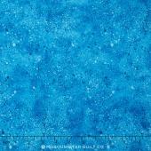 Wilmington Essentials - Spatter Texture Bright Blue Yardage