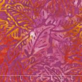 Artisan Batiks - Bright Blooms Flowers Magenta Yardage