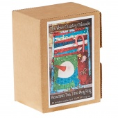 Snowman Tea Time Mug Rug Kit