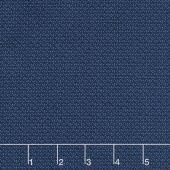 Wilmington Essentials - In the Navy Tiny Baskets Navy on Navy Yardage