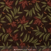 Country Road - Large Leaf Earth Yardage