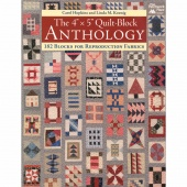 """The 4"""" x 5"""" Quilt-Block Anthology Book"""