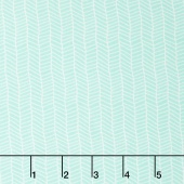 Sugar Pie - Herringbone Aqua Yardage