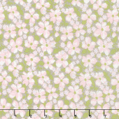 Amberley - Field Floral Pebble Yardage