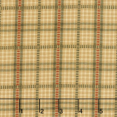 Itty Bitty - Dobbie Plaid Gold Yarn Dye Yardage