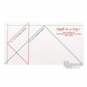 "Small Flying Geese Ruler (3"" X 6"")"