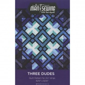Three Dudes Quilt Pattern by Rob Appell