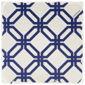 Indigo Patterns Coaster - Friendship Chain