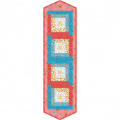 Back Porch Celebration Log Cabin Table Runner POD Kit