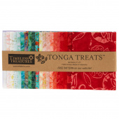 Tonga Treats Batiks - Poppy Minis