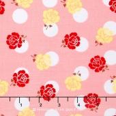 Sew Cherry 2 - Rose Pink Yardage