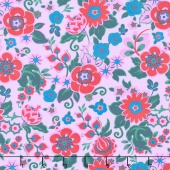 Soul Mate - Grand Bouquet Melon Yardage