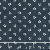 Portsmouth - Star Navy Yardage