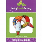 Silly Scrap Snake Funky Friends Factory Pattern