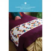 Carpenter's Starburst Bed Runner Pattern by Missouri Star
