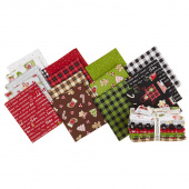 We Whisk You A Merry Christmas Fat Quarter Bundle