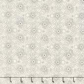 Blackwood Cottage - Pointillist Scroll Cream Yardage