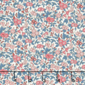 Winter Flower Show - Forget Me Not Yardage