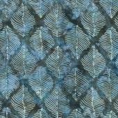 Splendor Batiks - Beech Leaves Night Yardage