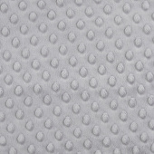 "Cuddle® Embossed Dimple - Graphite 60"" Minky Yardage"