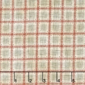 From the Farm - Pen & Ink Plaid Red Yardage