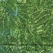 Tiki Batiks - Leaf Emerald Yardage
