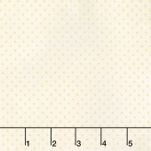 Tone on Tone - Swiss Dot Small Cream on Cream Yardage