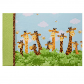 Missouri Star Zoe the Giraffe Easy Tube Pillowcase Kit