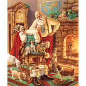 A Classic Christmas - Santa and Friends Multi Panel