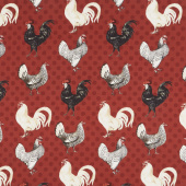 Free Range Fresh - Large Chicken Red Yardage