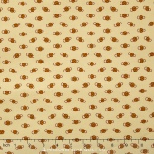 Little House on the Prairie - Mansfield Ditsy Tan Gold Yardage
