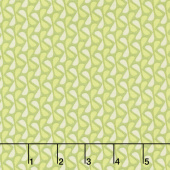 Sew Retro - Leaves Green Yardage