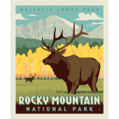 National Parks - Rocky Mountain Poster Panel