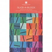 Slice-A-Block Quilt Pattern by MSQC